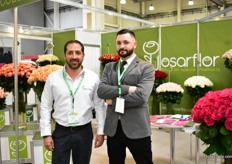 Martin Bedos and Sebastian Oadula of Josarflor. Russia is an important market for this Ecuadorian rose farm and they therefore felt the drop in demand during the World Cup last summer. However, all in all it has been quite a similar year compared to last year.