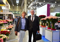 Wilco Verkuil and Alexander Mezhuev of Signify were also visiting the show.