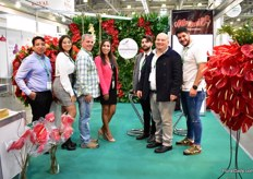 Firt time exhibiting company Agromiranda, from Venezuela. They grow anthurium and lilies and currently sell to the US, but want to start exporting to Russia as well, through direct flights from Venezuela to Russia. The large size of the flowers is attracting the attention of the Russian visitors. More on this company and their activities later in FloralDaily.