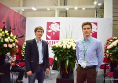Alexandr and Ivan of Russian rose farm World of Flowers.