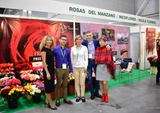 The team of Milele Flowers, Incoflores and Rosas del Manzano.