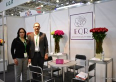 Ana Lucia Andrade and Roberto Guerra of EQR.