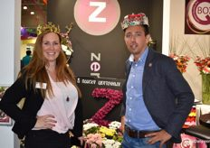 Otti Blok and Danny v. Uffelen, both from Zentoo, are the royal company of the fair.