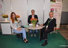 Boon Export was present at the fair, represented by Alisa Kitova, Willem Boon and Wim Boom.