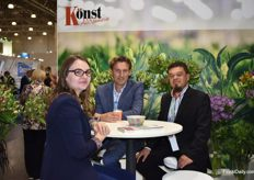 And Konst was faithfully present at the Expo. Maria Zaborskaya, Bart Tesselaar and Cesar Guzman.