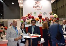 Here we got Gustavo, Maria Adrian from Royal Flowers!