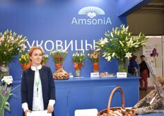 Julia Prokofeva from Amsonia was also at the Expo this year.