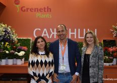 Greneth Plant was also present at the fair. Here we got Natalia, Jaco and Alena.