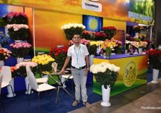 Edwin Hernandez from Invos Flower Colombia