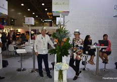 Francisco Andrea Saenz from Equador Floral.