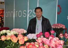 Here we got Luis Lopez from Anni Roses.