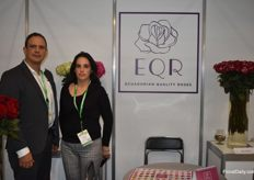 Roberto Guerra and Ana Andrade Lucia from EQR.