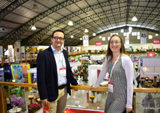Andrs Romero and Katerina Pinzon of High COntrol Group were also visiting the show.