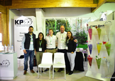 The team of Koenpack. They are supplying all kind of sleeves to Ecuador for three years now.