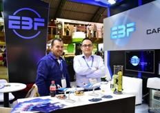 Sammy Mueses and Cesal Arguello of EBF Cargo.