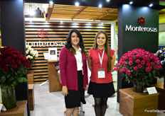 Stephanie Bastidas and Jacqueline Armijos of Monterosas. They grow over 50 varieties on 12ha and their main market is Russia.