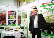 Jose Gonfora of Agripolyane promoting their different films.