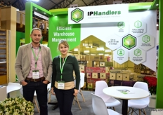 Bob Helsloot and Magdelena Stefanska of IP handlers. In January, they will open their extra 6000m2 sized perishable facility in the Netherlands.