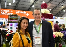 Andrea Ramirez and Christian can der Sar of Van Duijvenvoorden were also visiting the fair.