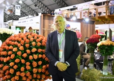 Dick van Raamsdonk of HPP exhibitions, the organizers of Agriflor.