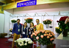 The team of Alpa Roses.