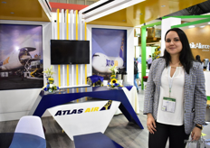 Jeanneth Cobo of Atals Air.
