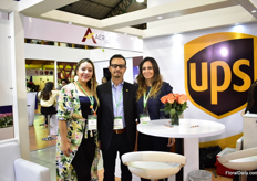 The team of UPS, from left to right: Cayetano Jobes, Angee Viviana Arevalo and Maria Belen Palacio.