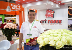 Adrian Moreno of Art Roses