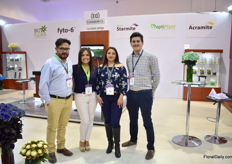 The team of Ecuaquia. They commercialize agrochemicals/