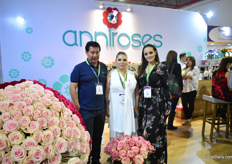 Katherine Mantilla, Luis Lopez and Nicole Lopez of Anniroses.
