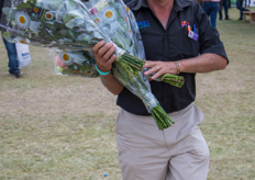 Richard McGonnel, chairman of the Naivasha Horticultural Fair.