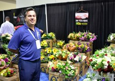 Doug Stinson of Sun Vista Farms. They grow and import flowers and supply mixed bouquets all over the US. They are based in San Diego, California.