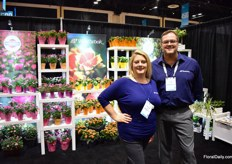 Arianne and Rich of Westbrook Floral.