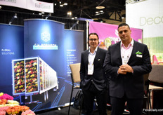 Javer Truyol and Mauricio Posada of one of the largest third party logistics companies in the US; C.H. Robinson.