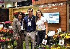 Shirley Brodsky, Mauricio Vallejo and Martha Franco of Fresh 2 Market by Fantasy Farms. Fresh 2 Market is a brand that can be found at several convenience stations in the US. We ship straight from the farm via FedEx.