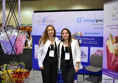 Tachana Carrillo and Angela Diaz of ITC Wiltches. This sleeve manufacturere was exhibiting at the PMA for the first time.