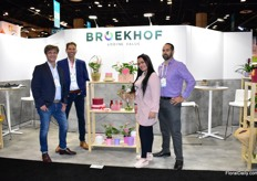 The team of Broekhof. They are one of the largest packaging and decoration suppliers in the Netherlands and are spreading their wings in the US. They are active on the US market for over 1,5 year now and they are pleased with the responses they get. At the PMA, they are showing their novel products.