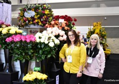 Leonora and Benay Fishman of Jolo Flowersfamily owned business that grows, ships, and markets flowers exclusively to Supermarkets across the US.