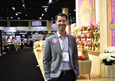 Adam Mace of Komet Sales was also visiting the show.