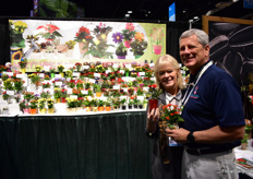Michelle and WIlliam Byland of N.G.Heimos Greenhouses and Micky's Minis.