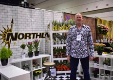 John van der Wal of Norhland Floral. This Canadian company works with all gorwers in Ontario, is a bouquet house and distributes their flowers.