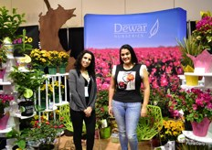Cecilia Landeros and Joanna Segovia of Dewar Nurseries.