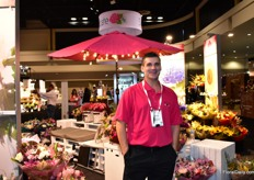 Johnny Waterston of Encore Floral Marketing. They manufacture bouquets in the US and supply them to supermarkets.