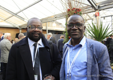 Joe Monyue Cassell, Floriculture Africa Mr. Clement Tulezi, the Kenya Flower Council.