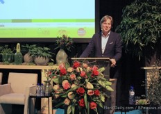 Marco van Zijverden, CEO Dutch Flower Group