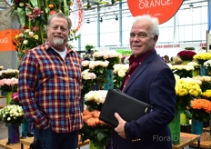 Doug Welty of Cottage Farms and Andrew Lee of Gloeckner were also visiting the show.