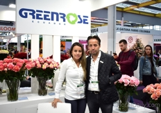 Susana Sandowal and Jose Javier Pallares of Greenrose. They are also one of the five growers of Toffee.