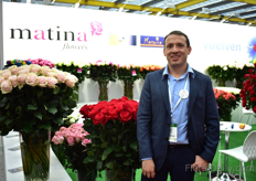 Jorge Ortega of Matina Flowers. According to Ortega, the mutation of Mondial, Pink Mondial, is doing very well. The demand comes from all over the world .