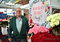Jan Renting of Optimal connection sees a bright future for the Mayra's Rose of Continental Breeding.