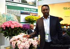 Tewodros Zewdie of Ethiopian Horticulture Producers Exporters Association EHPEA. Next to some unrest in the country, Ethiopia had to deal with some challenging weather this October.